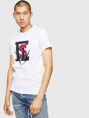 T-DIEGO-B3, Weiß - T-Shirts