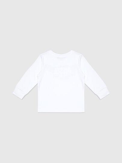 Diesel - TDOSKYB ML-R, Blanc - T-shirts et Hauts - Image 2