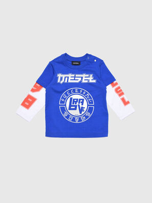 TUCOB, Blau/Weiß - T-Shirts und Tops