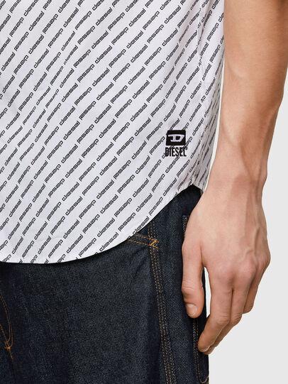 Diesel - S-RILEY-SHO-KA-C, Bianco - Camicie - Image 4