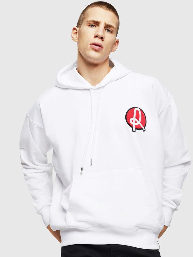 LR-S-GIRK-HOOD-VIC, Weiß - Sweatshirts