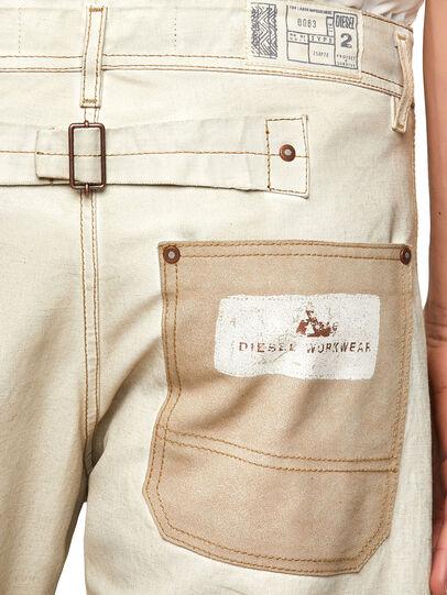 Diesel - DxD-5, Blanc - Pantalons - Image 3