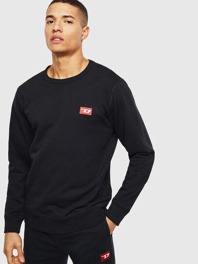 Diesel - UMLT-WILLY, Schwarz - Sweatshirts - Image 1