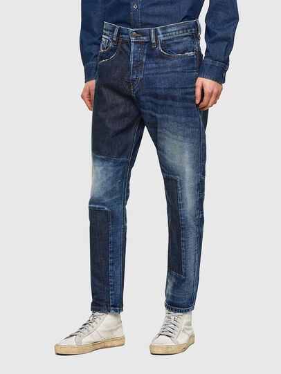 Diesel - D-Vider 009NJ, Mittelblau - Jeans - Image 5