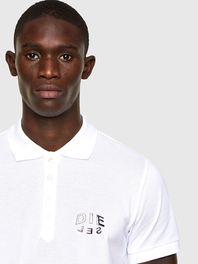 Diesel - T-RANDY-NEW-A2, Blanc - Polos - Image 2
