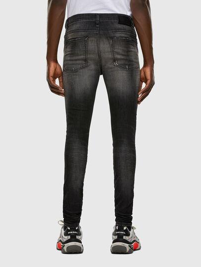 Diesel - D-REEFT JoggJeans® 009FX, Schwarz/Dunkelgrau - Jeans - Image 2