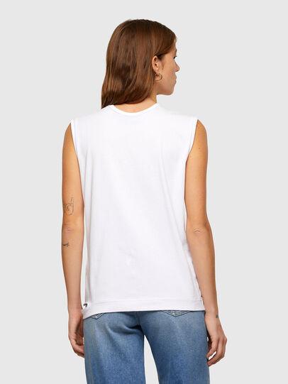 Diesel - T-BULL, Blanc - T-Shirts - Image 2
