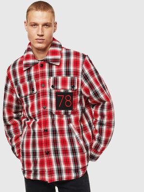 S-JOHNS, Rot/Schwarz - Hemden