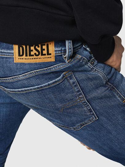 Diesel - Sleenker 069FZ, Mittelblau - Jeans - Image 5