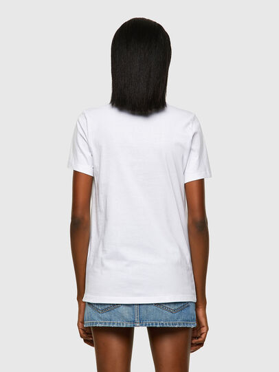 Diesel - T-SILY-ECOLOGO, Blanc - T-Shirts - Image 2