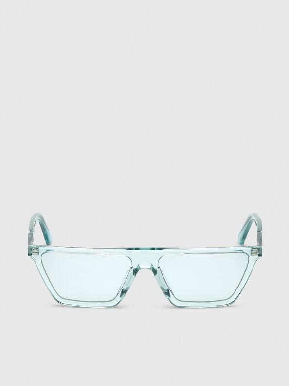 DL0304, Azurblau - Sonnenbrille