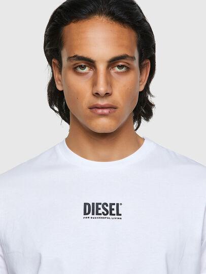 Diesel - T-DIEGOS-ECOSMALLOGO, Bianco - T-Shirts - Image 3