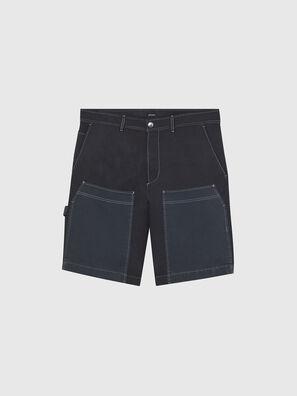 P-TRENT-SHORT, Schwarz/Blau - Kurze Hosen