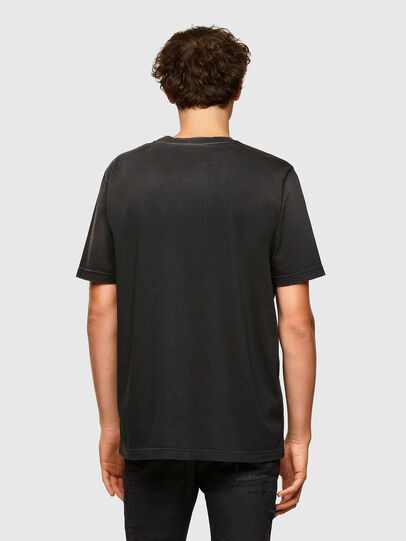 Diesel - T-JUST-A37, Nero - T-Shirts - Image 2