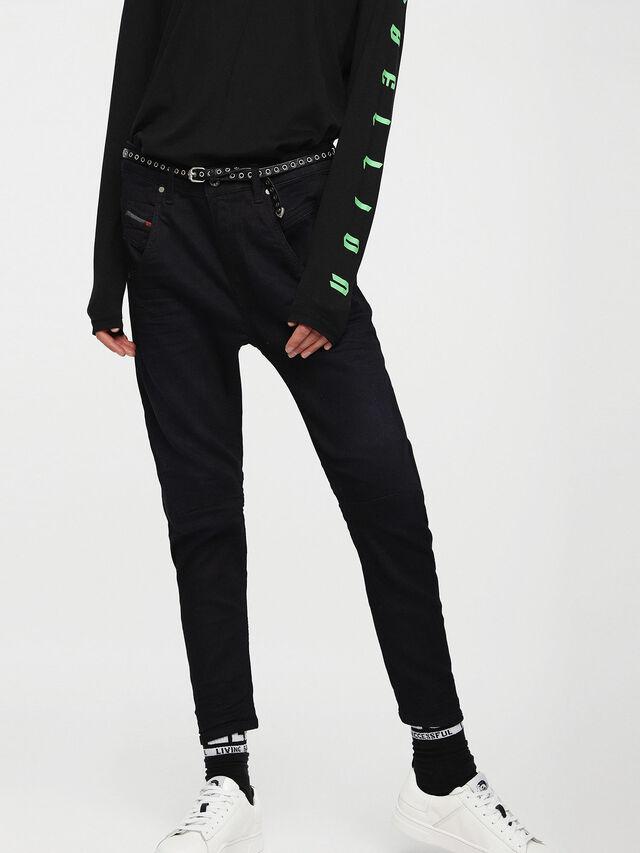 Diesel Fayza JoggJeans 0829P, Dunkelblau - Jeans - Image 1