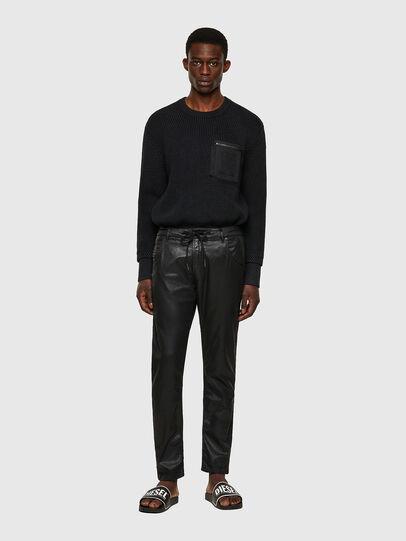 Diesel - Krooley JoggJeans® 0849R, Noir/Gris foncé - Jeans - Image 5