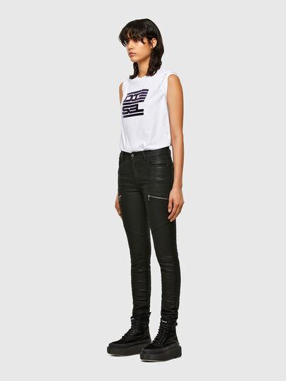 Diesel - T-SILY-K5, Weiß - T-Shirts - Image 4
