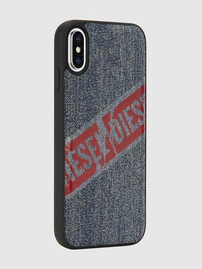 Diesel - VINTAGE DENIM IPHONE X CASE, Jeansblau - Schutzhüllen - Image 6
