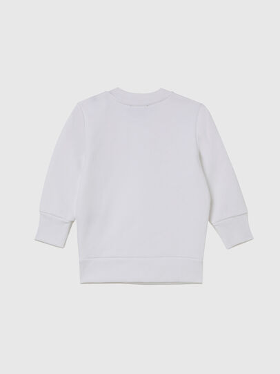 Diesel - SGIRKX5B, Weiß - Sweatshirts - Image 2