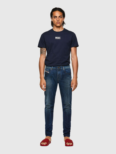 Diesel - D-Strukt JoggJeans® 069WR, Bleu Foncé - Jeans - Image 5