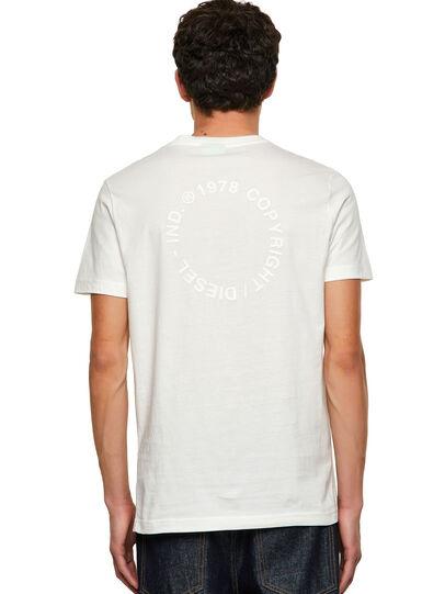 Diesel - T-DIEGOS-A4, Bianco - T-Shirts - Image 2