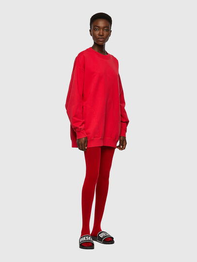 Diesel - F-EXA, Rouge - Pull Cotton - Image 4