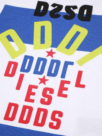 Diesel - TOLIB, Weiß/Blau - T-Shirts und Tops - Image 3