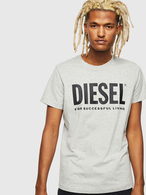 T-DIEGO-LOGO, Grau - T-Shirts