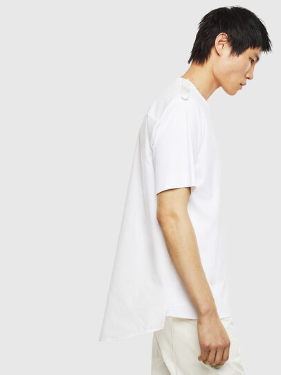 Diesel - T-ZAFIR, Weiß - T-Shirts - Image 4