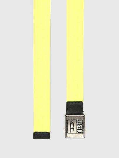 Diesel - B-METALTAPE, Yellow - Belts - Image 3