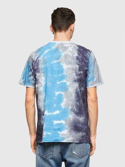 Diesel - T-JUST-E13, Gris/Bleu - T-Shirts - Image 2