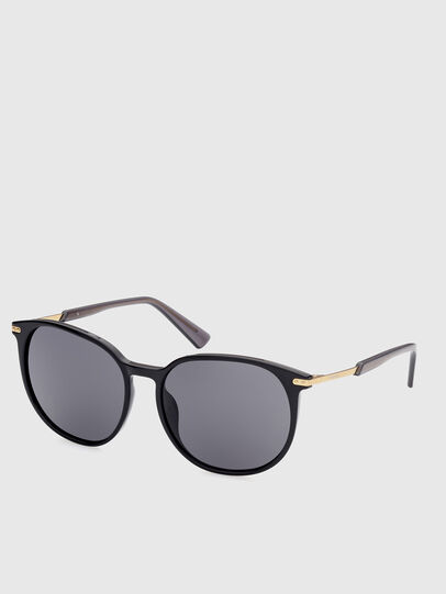 Diesel - DL0353, Black/Yellow - Sunglasses - Image 2