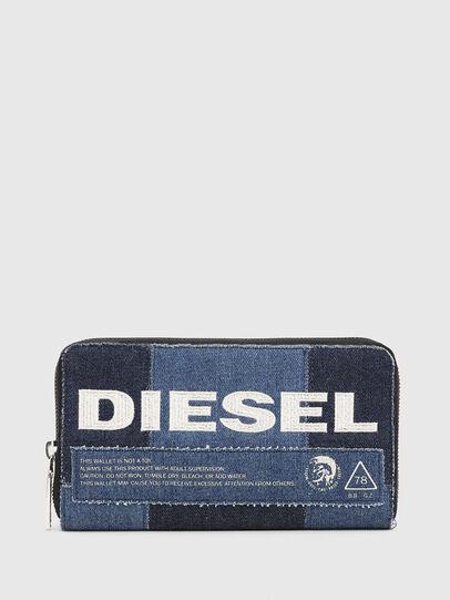 Diesel - GRANATO LC, Jeansblau - Portemonnaies Zip-Around - Image 1