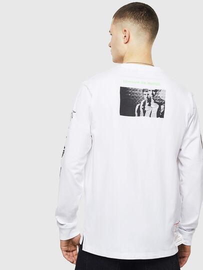 Diesel - T-JUSTLY, Weiß - T-Shirts - Image 2