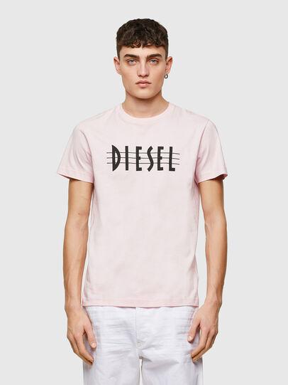 Diesel - T-DIEGOS-E34, Rose Poudré - T-Shirts - Image 1