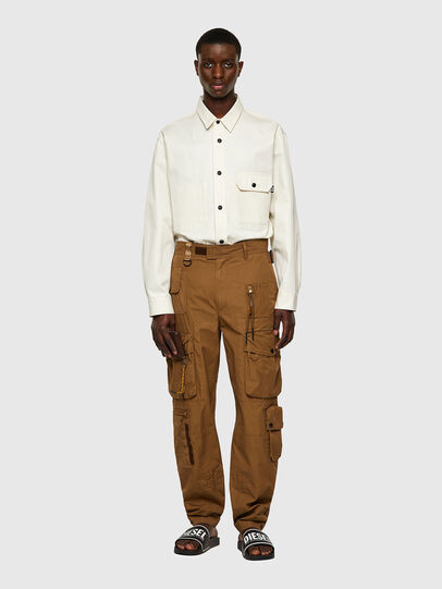 Diesel - P-GAGE, Marron Clair - Pantalons - Image 7