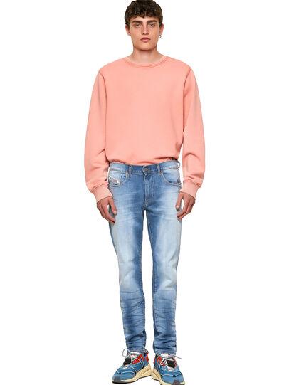 Diesel - D-Strukt 009NF, Bleu Clair - Jeans - Image 5