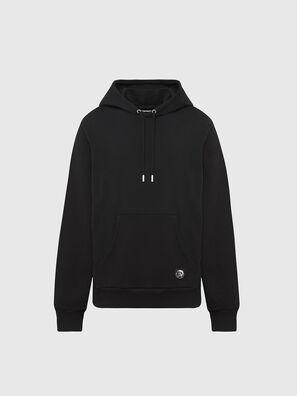 S-GIRK-HOOD-MOHI, Schwarz - Sweatshirts