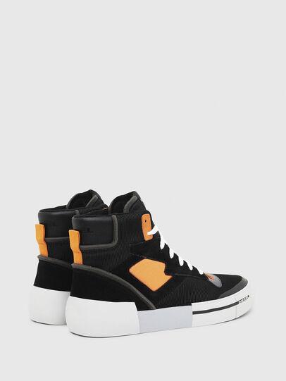 Diesel - S-DESE MS, Schwarz/Orange - Sneakers - Image 3