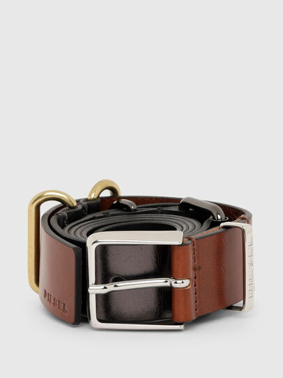 Diesel - B-TRIPLA, Brown/Black - Belts - Image 1
