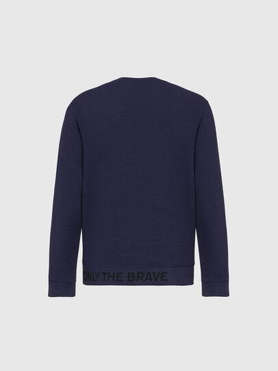 Diesel - S-PEWTER, Blau - Sweatshirts - Image 2