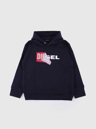 Diesel - SALBY OVER, Marineblau - Sweatshirts - Image 1