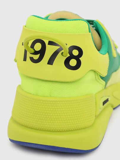 Diesel - S-SERENDIPITY LC, Yellow/Green - Sneakers - Image 6