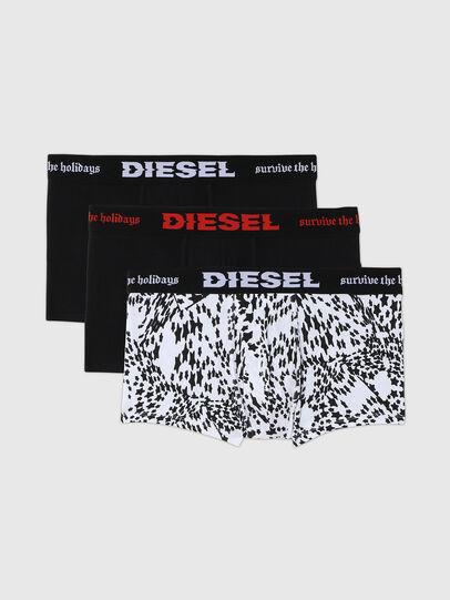 Diesel - UMBX-DAMIENTHREEPACK, Noir/Blanc - Boxeurs courts - Image 1