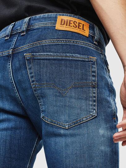 Diesel - Sleenker 0097T, Dunkelblau - Jeans - Image 5