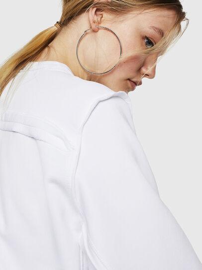 Diesel - F-LYANY-F, Weiß - Sweatshirts - Image 4