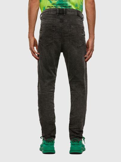 Diesel - D-VIDER JoggJeans® 009FZ, Schwarz/Dunkelgrau - Jeans - Image 2