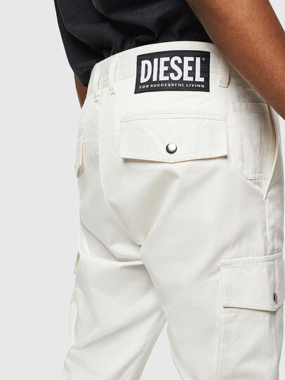 Diesel - P-JARED-CARGO, Weiß - Hosen - Image 3