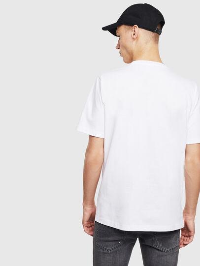 Diesel - T-JUST-T23, Weiß - T-Shirts - Image 4