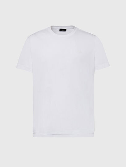 Diesel - T-DIAMANTIK-NEW2, White - T-Shirts - Image 1